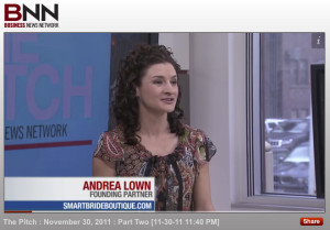 Andrea Lown on BNN's The Pitch