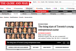 The rising stars of Toronto's young entrepreneurs scene