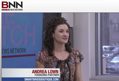 BNN's THE PITCH: Andrea Lown pitches SmartBrideBoutique.com
